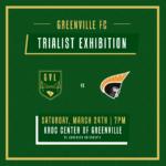 GREENVILLE FC TRIALIST EXHIBITION MATCH