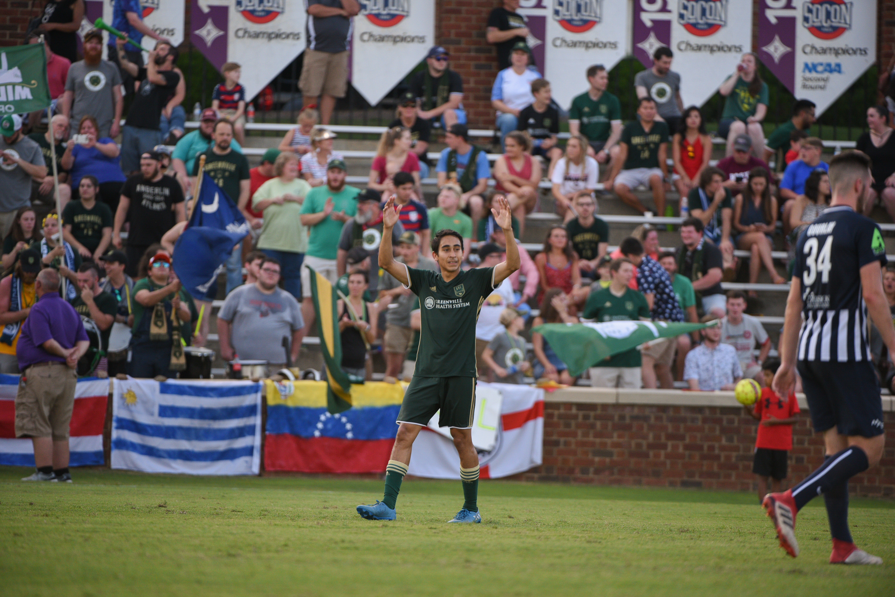 BOYS IN GREEN: MANUEL PEREZ