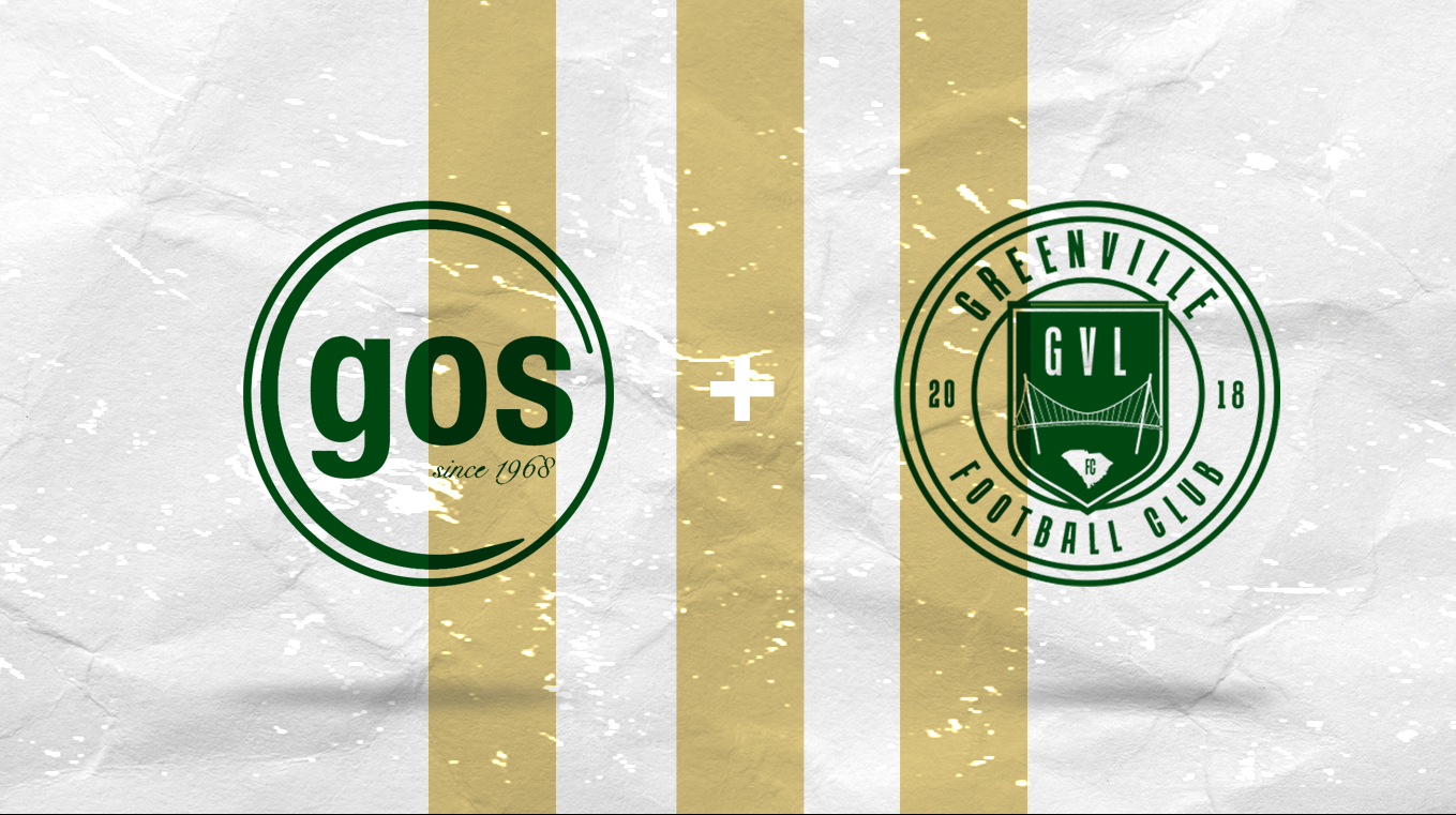 GREENVILLE FC AND GOS ANNOUNCE PARTNERSHIP EXTENSION
