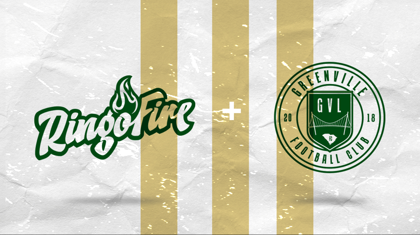 GREENVILLE FC AND RINGOFIRE  ANNOUNCE PARTNERSHIP EXTENSION