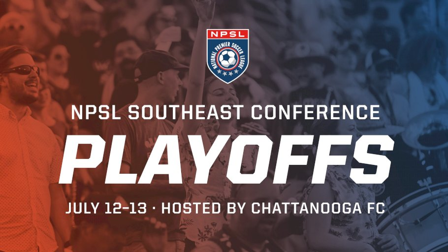 2019 NPSL SOUTHEAST CONFERENCE PLAYOFF INFORMATION RELEASED